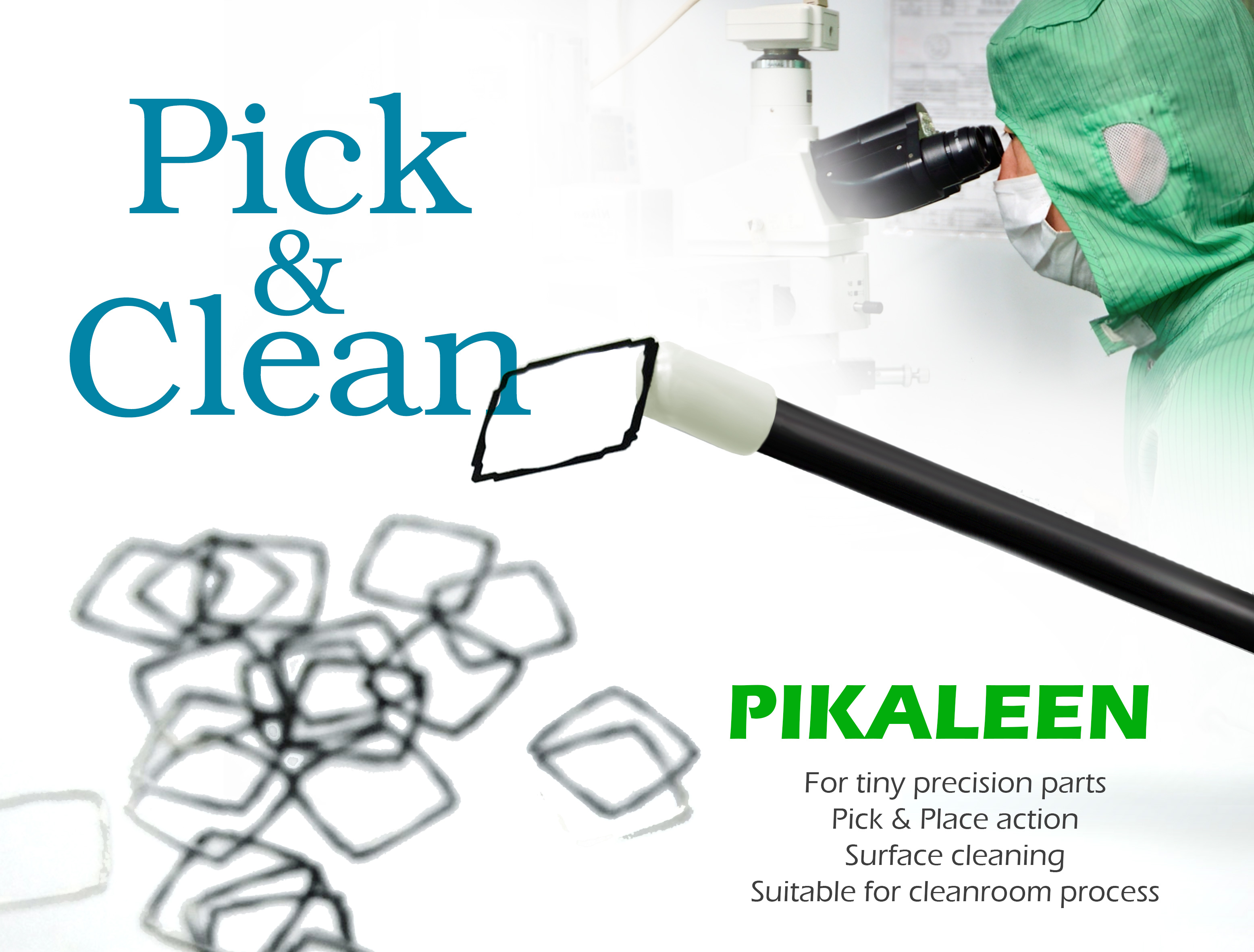 PIKALEEN<br>Pick & Clean Sticks